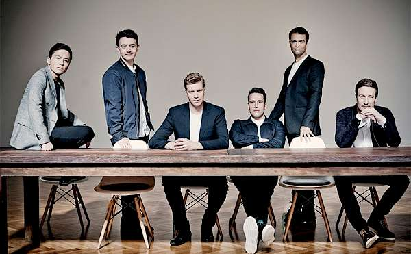 The King's Singers (Foto: Marco Borggreve)
