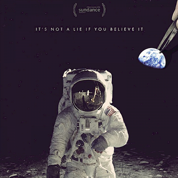 Filmplakat «Operation Avalanche» (2016, Regie Matt Johnson, 94 Min.), Detail