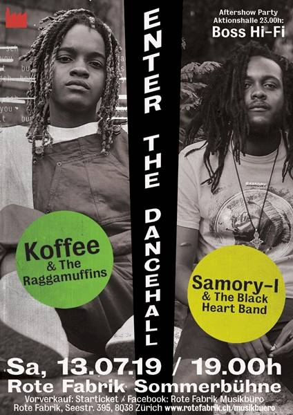 Poster KOFFEE & The Raggamuffins