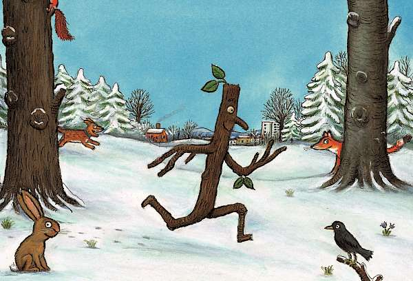 Der Stockmann (c) Axel Scheffler, 2008, Reproduced with the permission of Scholastic Children's Books