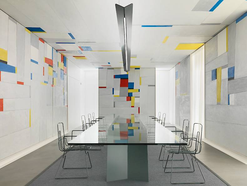 Fritz Glarners «Rockefeller Dining Room» revisited by Alfredo Häberli